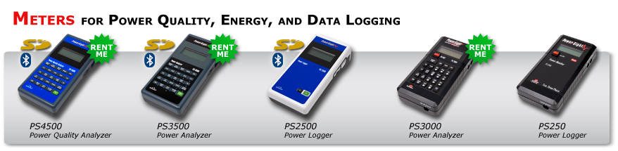 portable power quality analyzer data logger