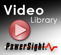 PowerSight power analyzer videos