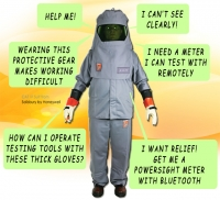 NFPA Arc Flash safety suit