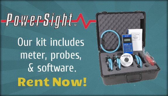 Rent a PowerSight meter now